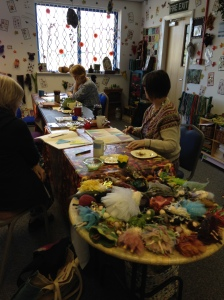 A variety of craft classes take place at the Faerierealms studio